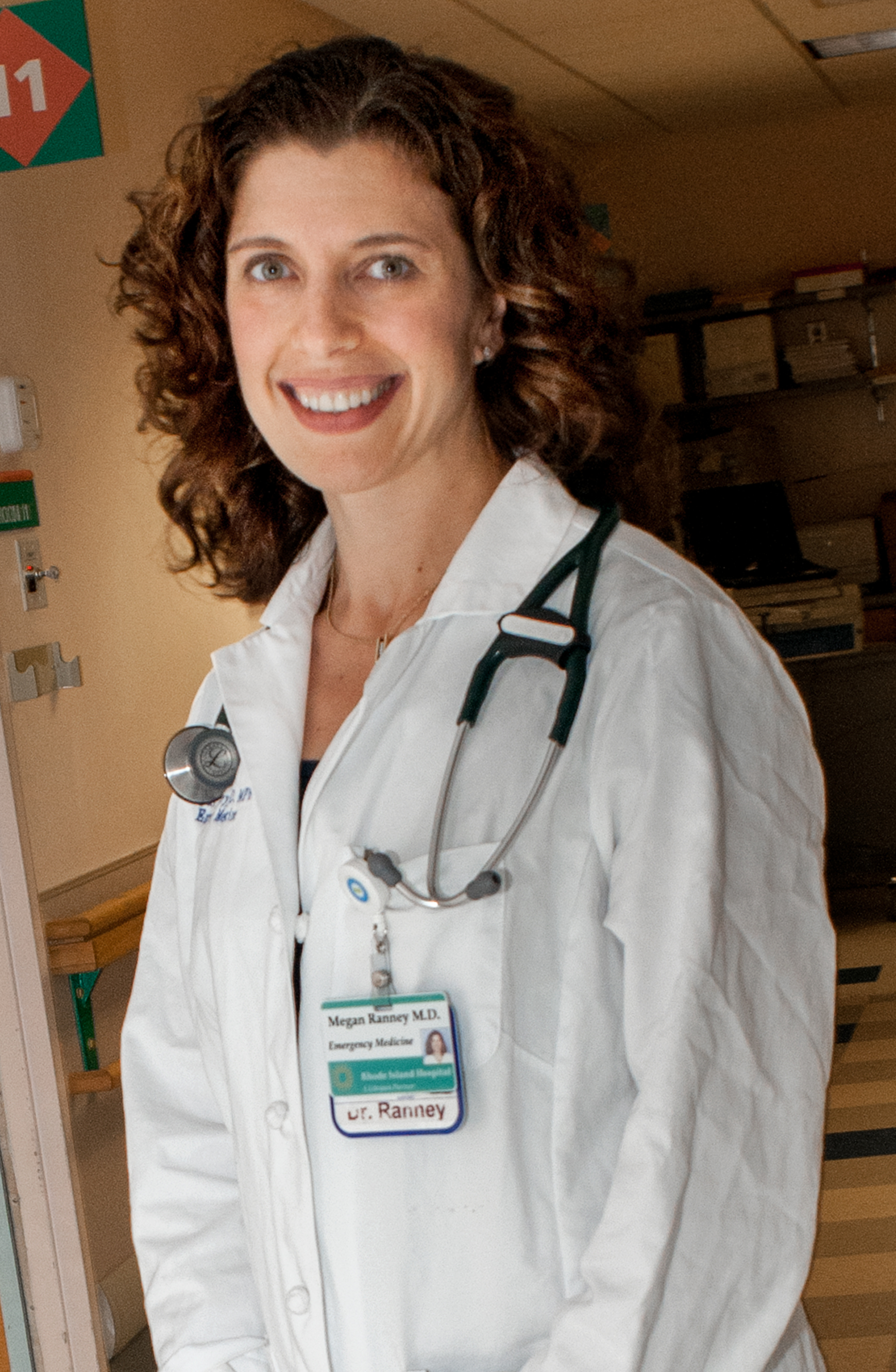 photo of Dr. Megan Ranney