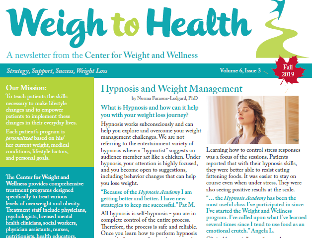 Weigh to health cover