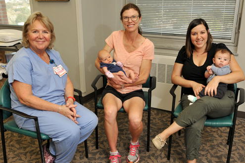 Birthing Center, breastfeeding class