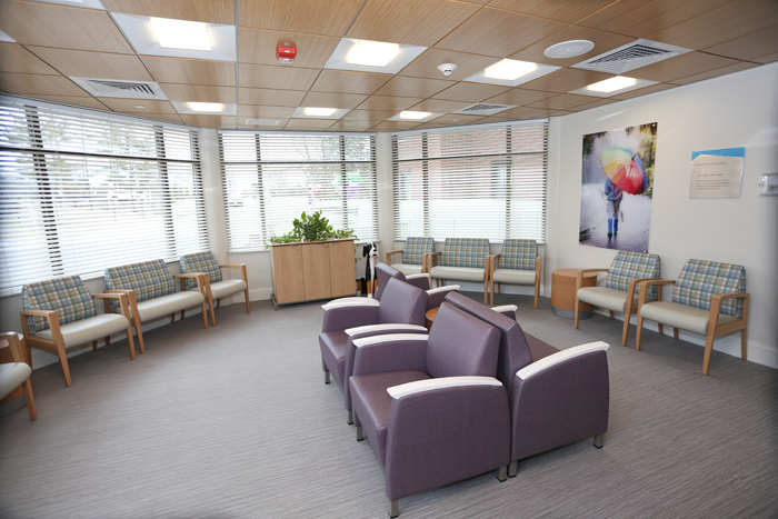 Carol A Peterson Welcome Center at Bradley Hospital