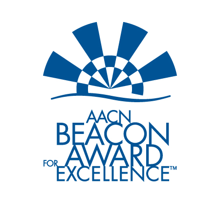 Silver Beacon Award for Excellence from the American Association of Critical Care Nurses