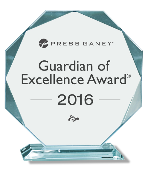 Newport Hospital has again been named a Guardian of Excellence Award recipient by Press Ganey Associates, Inc. for superior care provided by the hospital's Vanderbilt Rehabilitation Center inpatient unit