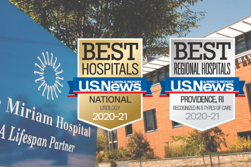 The Miriam Hospital is ranked as one of the top hospitals in the U.S.