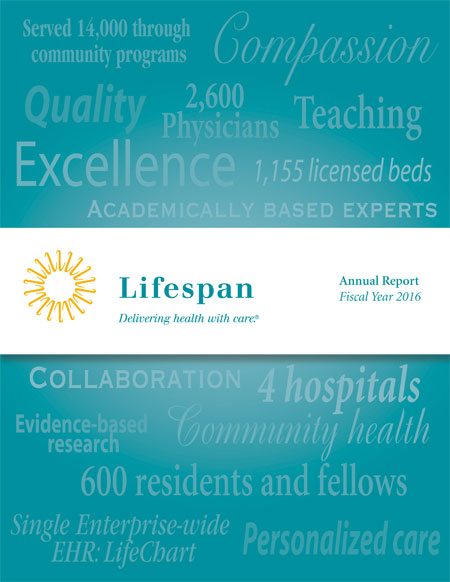 Lifespan 2016 Annual Report