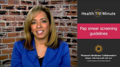 Pap Smear Screening Guidelines