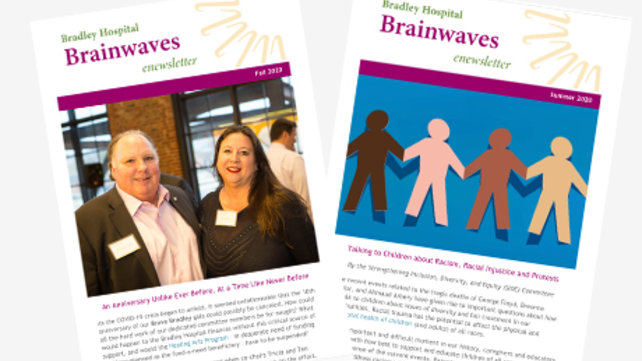 Bradley Hospital Brainwaves e-newsletter