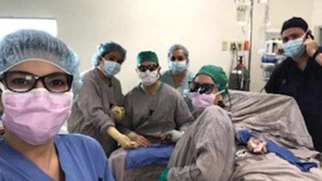 Julia Katarincic, MD and her team in Honduras.